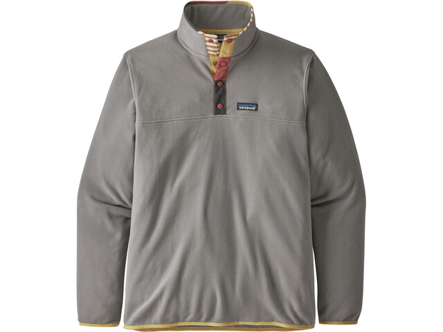 Patagonia Micro D Snap-T Pullover Hombre, feather grey